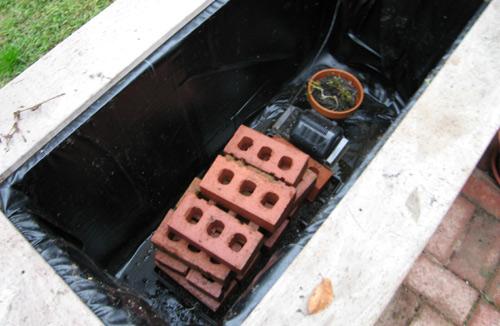 Just bricks and pots left