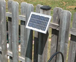 Solar Panel for Pump